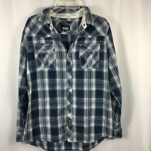 247c1669 Redsnap Shirts   Plaid Utility Shirt   Poshmark
